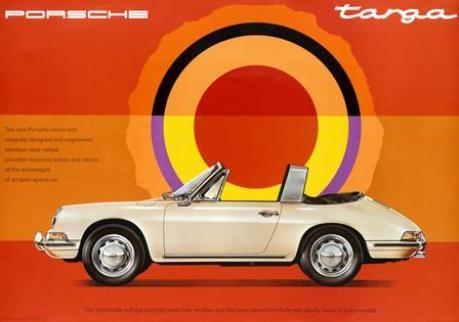 Porsche 911 Targa US-Werbung 1967