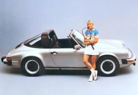 Porsche 911 Targa Werbung 1983