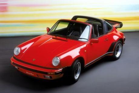 Porsche 911 Targa Turbo, Modelljahr 1988