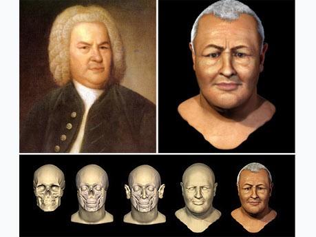 Bach Gesichtsrekonstruktion