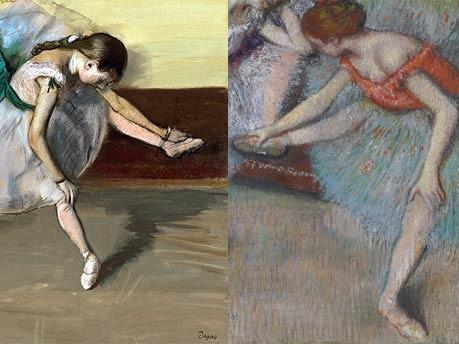 Tänzerinnen von Edgar Degas