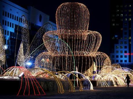 Mitten in ... Astana, Reuters