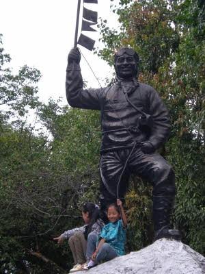 Mitten in Darjeeling, oh