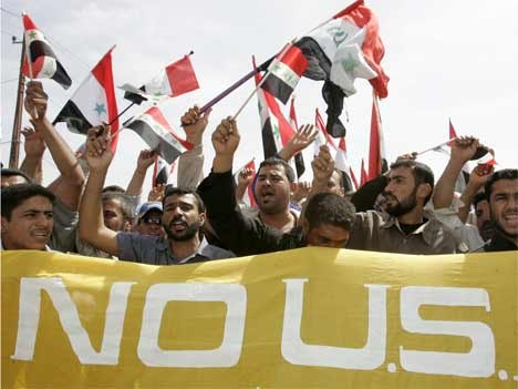Proteste im Irak am Jahrestag des Saddam-Sturzes