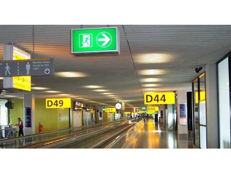 Übernachten auf dem Flughafen: Schiphol Satellite