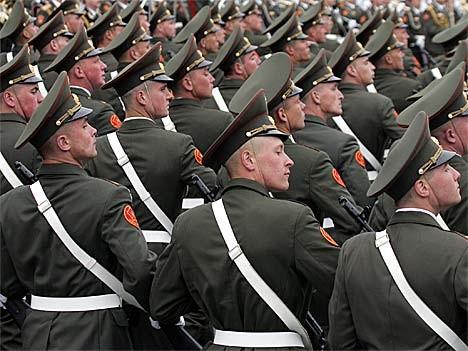 Russische Militärparade zum Jahrestag des Kriegsendes