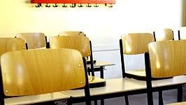 Klassenzimmer leer