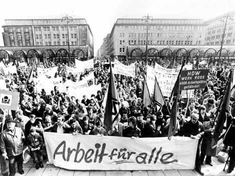 Demo in Hamburg