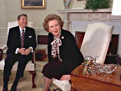 Thatcher, Reagan