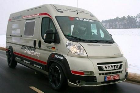 Das schnellste Reisemobil der Welt Hymer