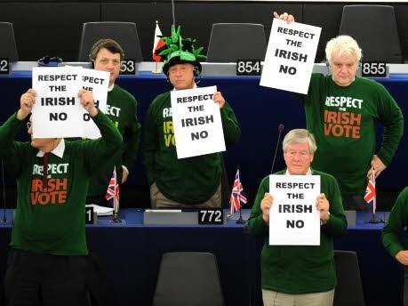 EU-Gegner im Europaparlament, AFP