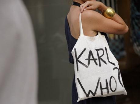 Karl Lagerfeld/ddp