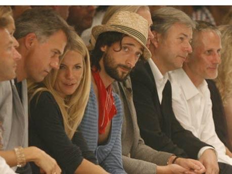 Sienna Miller, Adrian Brody, Klaus Wowereit/ddp