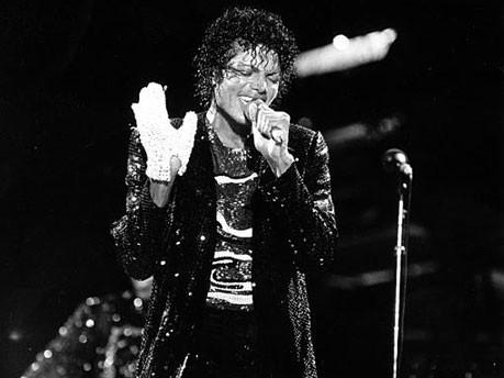 Accessoires der Stars, Michael Jackson, Jacko, King of Pop, Handschuh; AP