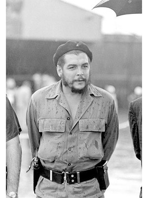 Accessoires der Stars, Che Guevara, Barett; AP