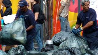Müllabfuhr New York