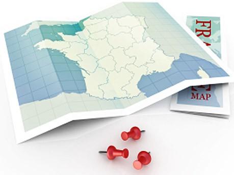 Urlaub, Karte, iStock