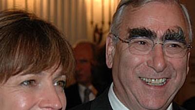 Irene Epple-Waigel und Theo Waigel