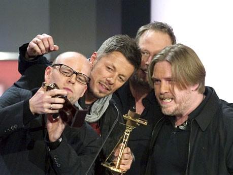 Goldene Kamera 2010, Die Fantastischen Vier, dpa