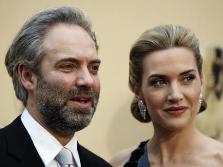 Sam Mendes, Kate Winslet; Foto: AP