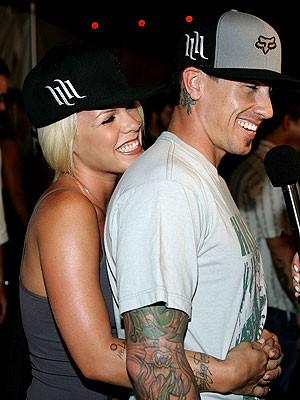 Pink und Ehemann Carey Hart