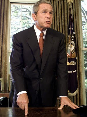 George W. Bush, Missgeschicke
