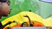 Der umstrittene Paragraph 377 fällt: Die Forderungen zahlreichen Kritiker des umstrittenen Gesetzes zum Verbot der Homosexualität - hier bei einer Demonstration in Neu Delhi am 29. Juni - wurden damit erfüllt.