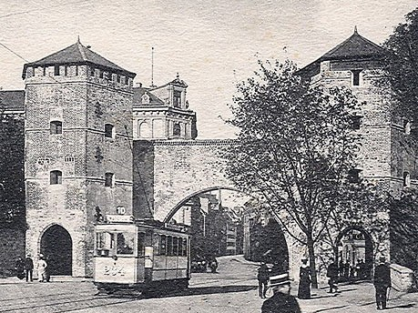 Die historische Altstadt: Sendlinger Tor