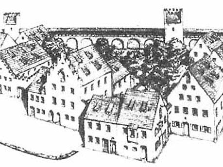 Die historische Altstadt: Platzl