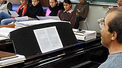 Musikunterricht an der Waldorfschule Uhlandshöhe in Stuttgart