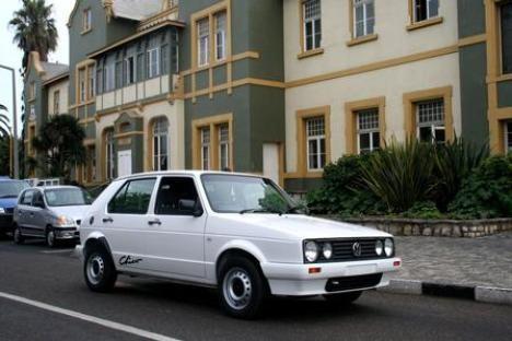 VW Golf I in Afrika