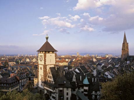 Sonnenstunden Weltweit, Freiburg