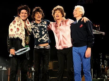 Rollings Stones Großväter Opas