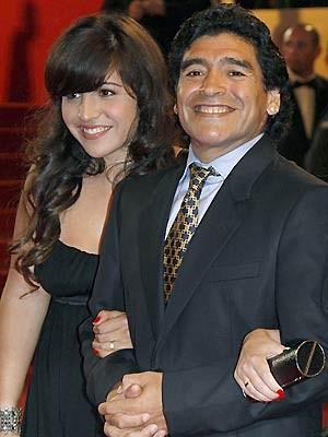 Maradona Giannina Großvater Opa