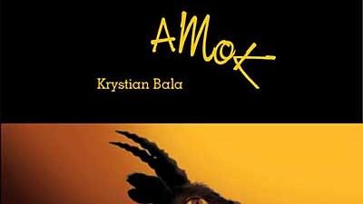 Buchtitel eines polnischen Autors unter Mordverdacht Krystian Bala; oh