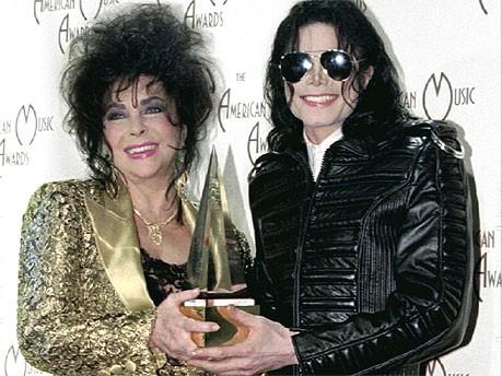 Elizabeth Taylor; Michael Jackson, Reuters