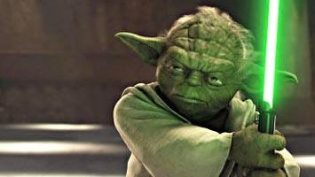 """Kino: Klein, grün, sauer: Meister Yoda, eine der Kultfiguren der """"Star Wars""""-Episoden."""