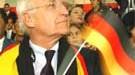 Edmund Stoiber, Deutschlandfahne; dpa