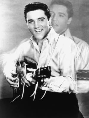 Elvis Presley; King of Rock n Roll; Foto: dpa