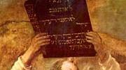 Moses mit den Gesetzestafeln, Rembrandt