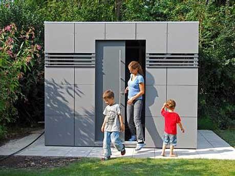 gartenhaus modell cube ; dpa