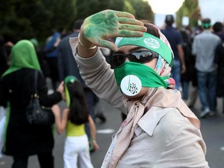 Iran, Demonstranten, Mussawi, Tehran, Proteste, Frauen