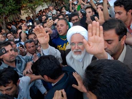 Iran, Demonstranten, Mussawi, Tehran, Proteste, Karrubi, geístlicher