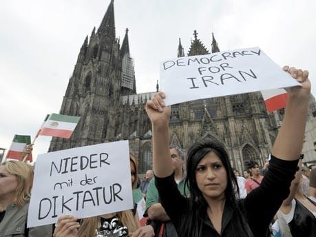 Iran, Demonstranten, Mussawi, Tehran, Köln, Exil-Iraner