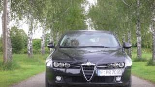 Praxistest: Alfa Romeo 159 1.9 JTS: Eine imposante Erscheinung: der Alfa Romeo 159 1.9 JTS