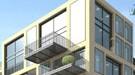 Luxuslabel Loft: Licht von allen Seiten: ein Entwurf für ein Haus in den Lenbachgärten.