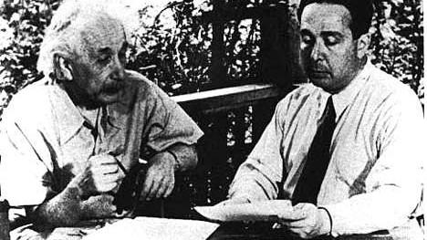 Szilard, Einstein