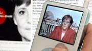 Lernen mit Podcasts: Beim Bundeskanzlerin-Podcast von Angela Merkel lernt man zwar keine Fremdsprache, aber vielleicht etwas anderes