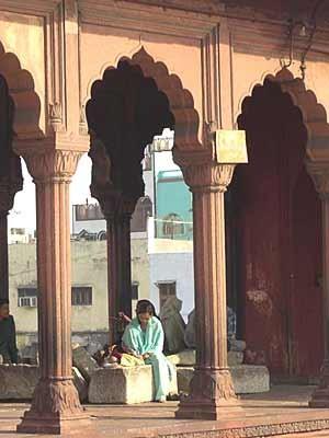 Jamia Masjid-Moschee in New Delhi