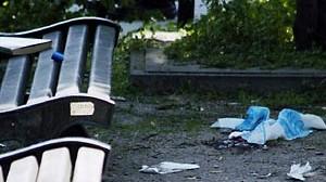 """Das """"schleichende Gift Rassismus"""" führte zum Mord: der Tatort in Antwerpen."""